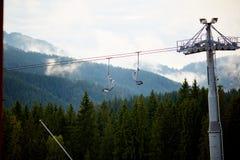 Bukovel carpathians Φθινόπωρο Στοκ φωτογραφία με δικαίωμα ελεύθερης χρήσης