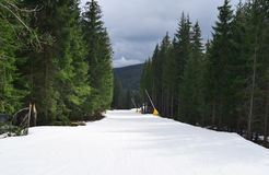 Bukovel mountain Stock Image