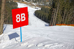 Bukovel ski resort, Carpathians, Uk Royalty Free Stock Images