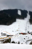 Bukovel ski resort, Carpathians, Ukraine Royalty Free Stock Photography