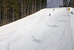 Bukovel ski resort, Carpathians, Ukraine Stock Photos