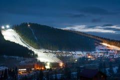 Bukovel ski resort Royalty Free Stock Image