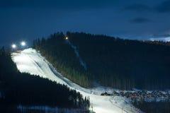 Bukovel ski resort Stock Photography