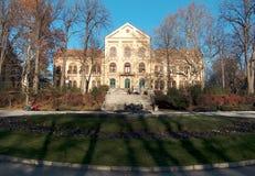 Bukovicka brunnsort Staro Zdanje hotell royaltyfria foton