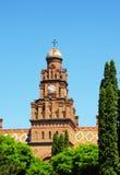 Bukovinian城市居民住所,现在一部分的切尔诺夫策大学 免版税库存照片