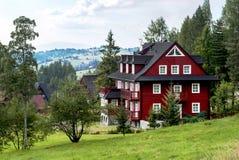 Bukowina Tatrzanska, Poland - August 21, 2015: Villa Marysin. Stock Photography