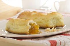 Bukta, hungarian yeast pastry with jam Royalty Free Stock Photos
