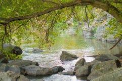 Buky峡谷 乌克兰在秋天 免版税图库摄影
