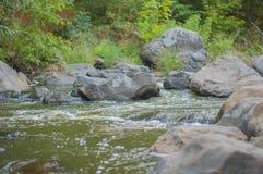 Buky峡谷 乌克兰在秋天 库存照片