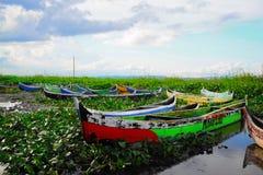 bulalo limutu hulondalo风景在印度尼西亚 免版税库存图片