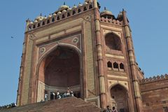Buland Darvaja, Fatehpur Sikri, Uttar Pradesh, India Royalty-vrije Stock Foto