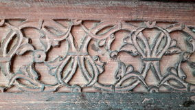Buland Darwaja, Fatehpur Sikri, India. Stone carving at Buland Darwaja, Fatehpur Sikri, India Royalty Free Stock Photos
