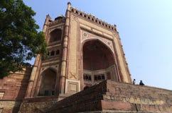 Buland Darwaza är tecknet av segern arkivfoto