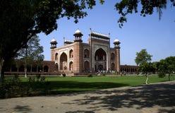 Buland Darwaza de Taj Mahal de Agra Foto de archivo