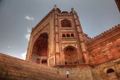 Buland Darwaza entrance to Fatehpur Sikri India Royalty Free Stock Photos