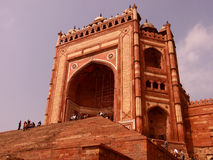 Buland Darwaza, Fatehpur Sikri, Agra Stockbild