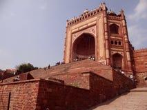 Buland Darwaza, Fatehpur Sikri, Agra Fotografia Stock