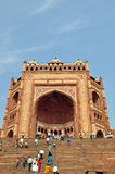 Buland Darwaza in Fatehpur Sikri, India Stock Images