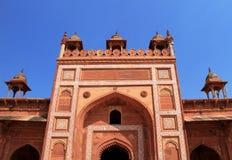 Buland Darwaza, Ogromny drzwi, Fatehpur Sikri, India zdjęcia stock