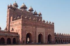Buland Darwaza (porten av storslagenhet), Fatehpur Sikri Royaltyfri Bild