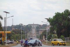 Bulange Lukiiko Parliament in Kampala Stock Photos