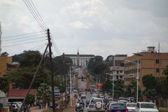 Bulange Lukiiko Parliament in Kampala Royalty Free Stock Image