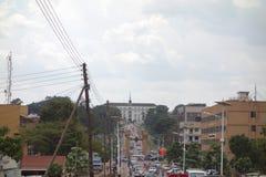 Bulange Lukiiko Parliament in Kampala Royalty Free Stock Images