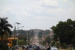 Bulange Lukiiko Parliament in Kampala Royalty Free Stock Photos