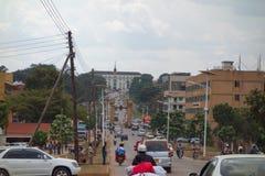 Bulange Lukiiko Parliament in Kampala Royalty Free Stock Photo