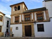 Bulas,科多巴,西班牙议院  免版税库存图片