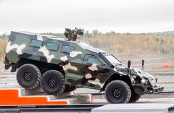 Bulat armored vehicle SBA-60K2 (Russia) Stock Image