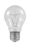 Bulb. A bulb is isolated on a white background Royalty Free Stock Photography
