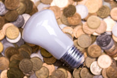 The bulb Stock Images