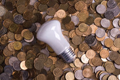 The bulb Stock Photography