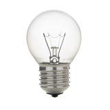 Bulb. Electric bulb isolated on white background Stock Photos