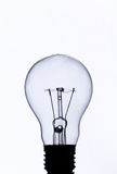 Bulb. An bulb photograph in studio with black contour Royalty Free Stock Images