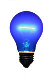 Bulb. Blue Bulb royalty free stock photography