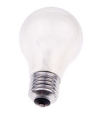 Bulb. On the white background Stock Photo