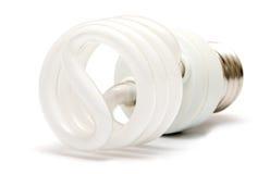 Bulb. Energy saver flourescent light bulb stock image