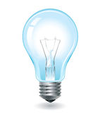 Bulb. Vector realistic light bulb 1 Royalty Free Stock Photography