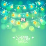 Bulb background Stock Image