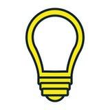 Bulb or big idea icon. Stock Image