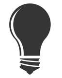 Bulb or big idea isolated icon Stock Image