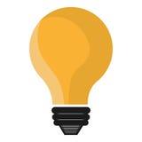 Bulb or big idea isolated icon Stock Photos