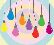 Bulb color Stock Photos