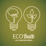 Bulb  design Royalty Free Stock Photo