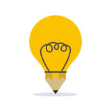 Bulb  design Royalty Free Stock Photography