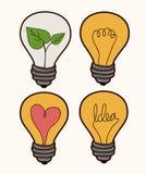 Bulb design Stock Image
