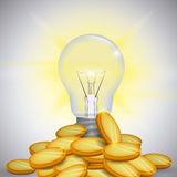 Bulb design. Royalty Free Stock Photo