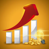 Bulb design. Stock Photography
